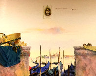 Impressions, Venice 1998 51x63 Huge  Original Painting by Michael Gorban - 0