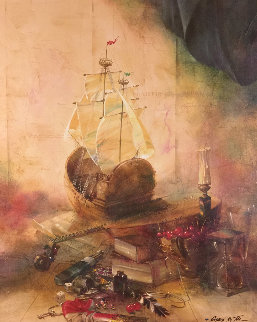Tall Ships 1997 Limited Edition Print by Michael Gorban