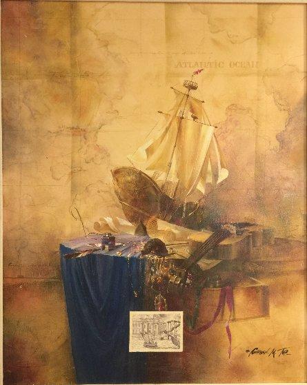 Bon Voyage Limited Edition Print by Michael Gorban