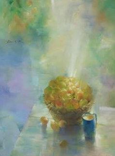 Untitled Still Life 1999 40x30 Original Painting by Michael Gorban
