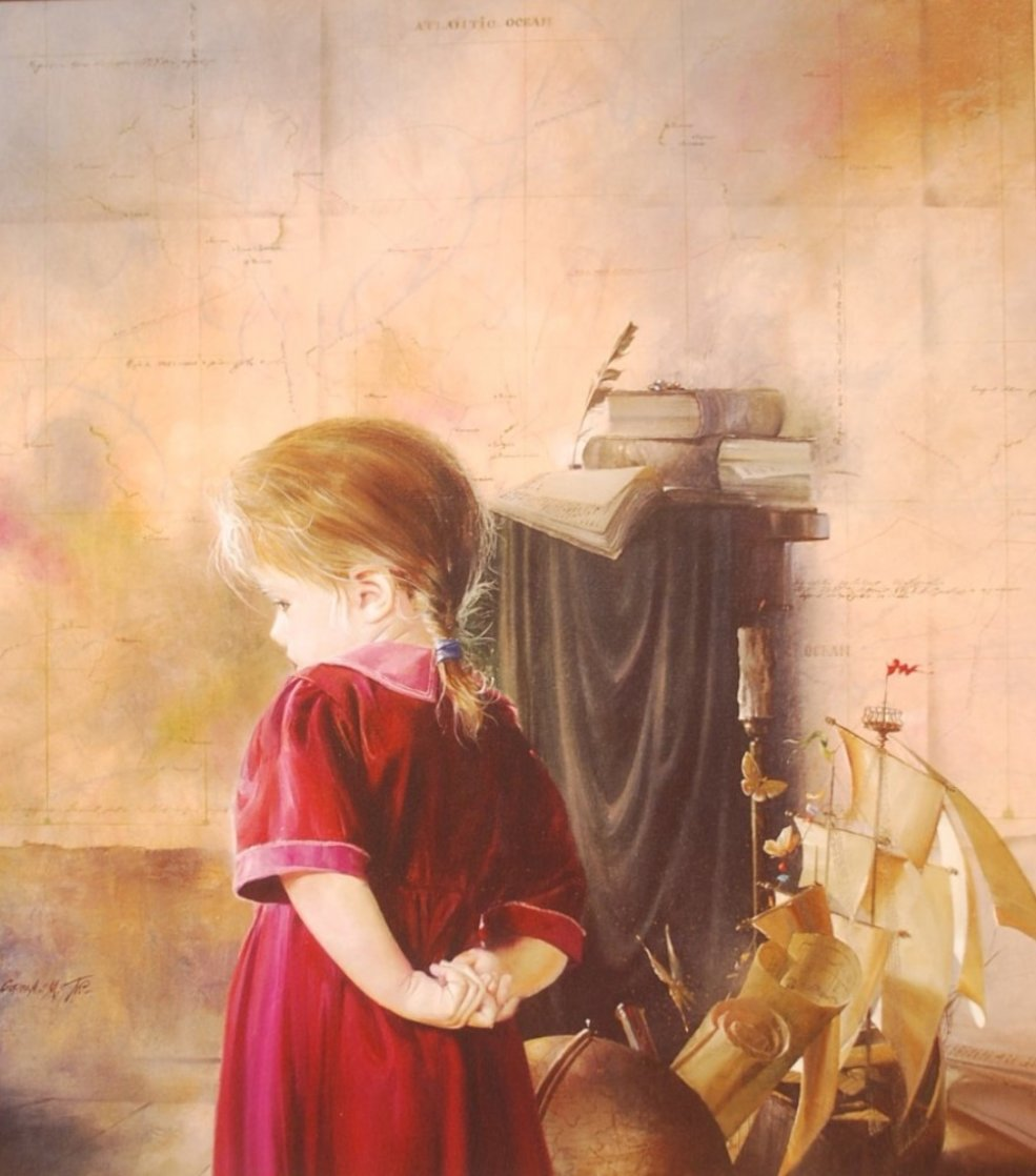 Innocence 1990 Limited Edition Print by Michael Gorban
