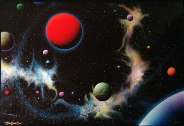 Paths Of Least Resistance 1990 Limited Edition Print by Michael David Ward