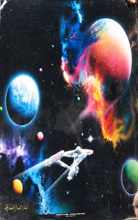 Second Star to the Right - Star Trek Limited Edition Print - Michael David Ward