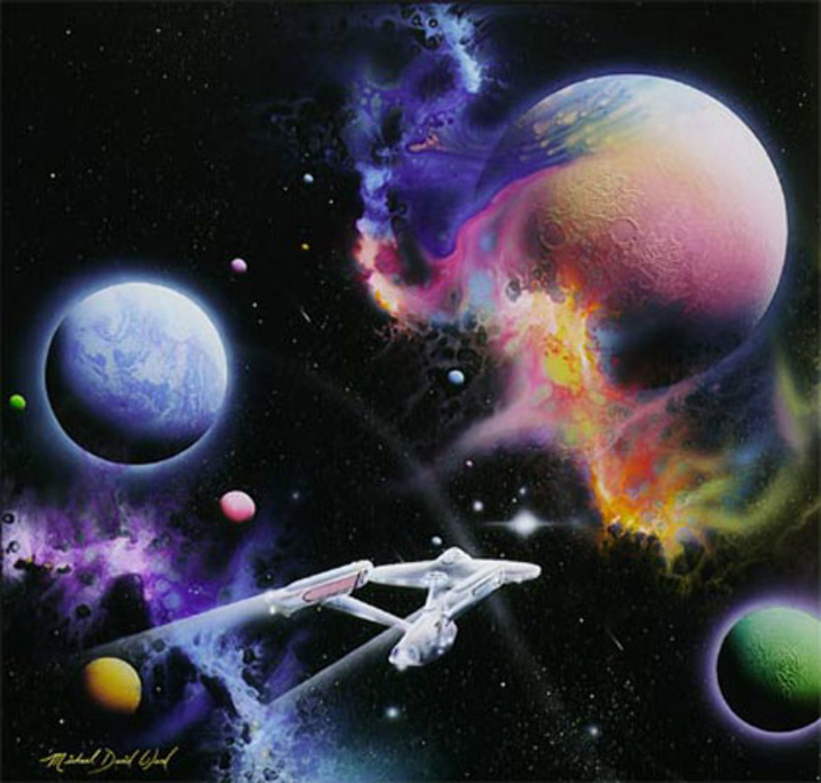 Second Star to the Right...and Straight on Till the Morning 1992 Limited Edition Print by Michael David Ward