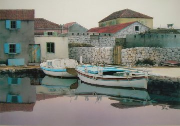 From Village Betina 1989 Limited Edition Print by Zvonimir Mihanovic