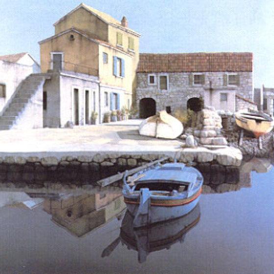 Fishing Village 1986 Limited Edition Print by Zvonimir Mihanovic