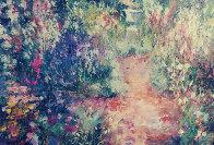 Untitled Painting 24x35 Original Painting by Henrietta  Milan - 0
