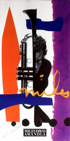 Amandla 1989 Limited Edition Print by Miles Davis