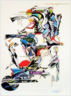 Trumpet Player Limited Edition Print - Miles Davis