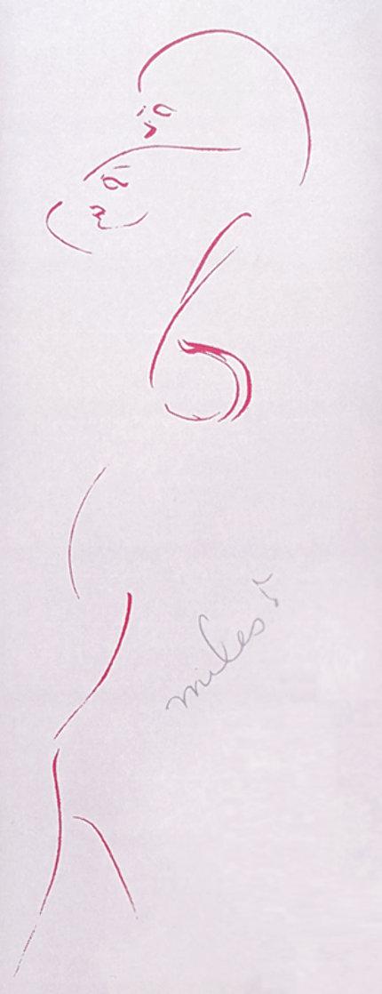 Les Femmes PP Limited Edition Print by Miles Davis