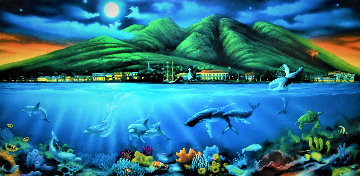 Lahaina Moon 2003 Limited Edition Print by David Miller