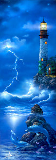 Storm Watch 1999 Huge 42x22 Limited Edition Print - David Miller