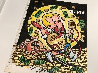 Richie Rich Rock Star 12x9 Works on Paper (not prints) by  MiMo - 1
