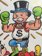 Mimo Monopoly Man Boxing Mickey Unique 2013 15x13 Works on Paper (not prints) by  MiMo - 1