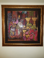 Magical Theatre 2006 50x49 Super Huge Original Painting by Zu Ming Ho - 2