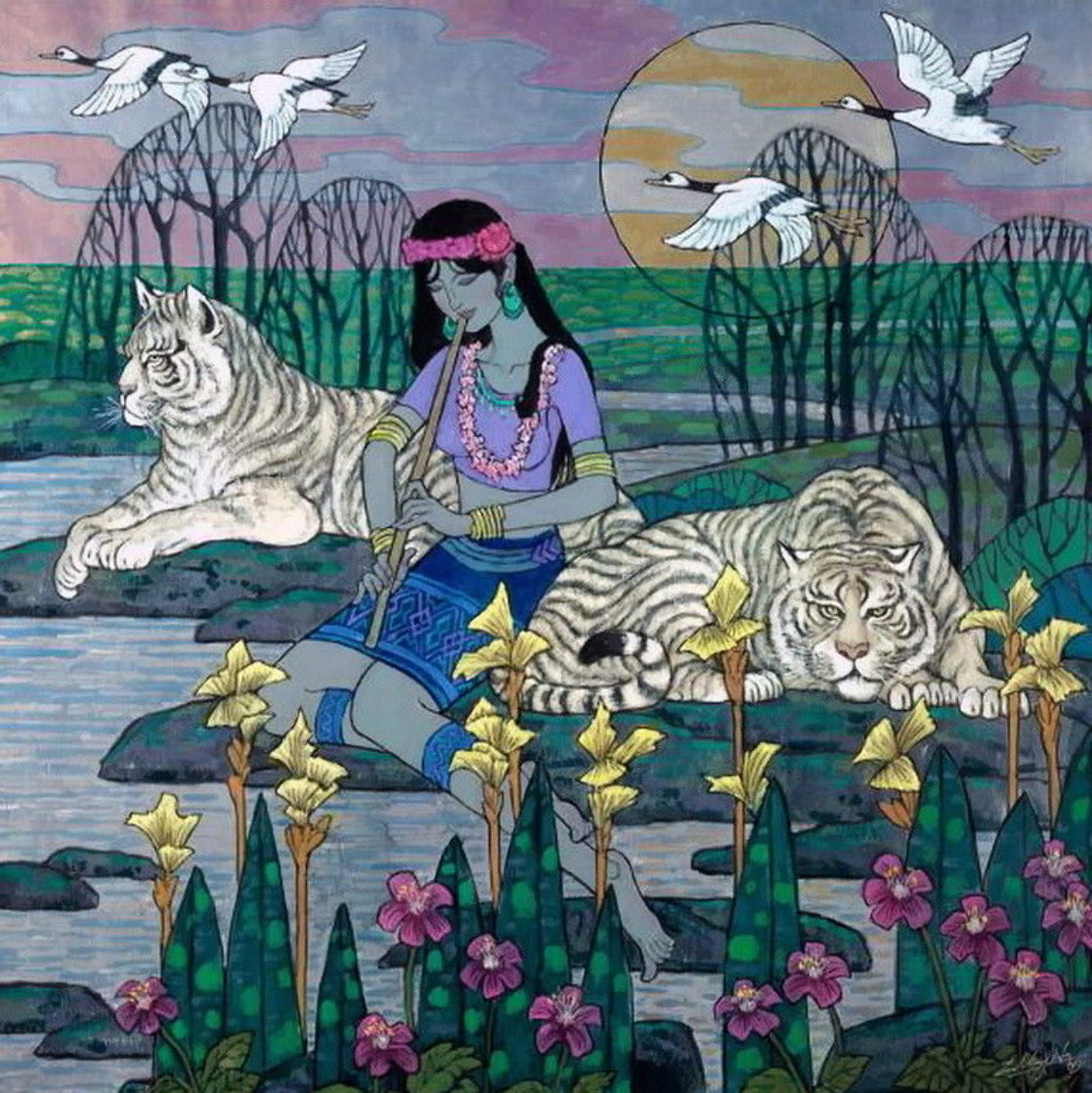 Domesticated in the Wild  Limited Edition Print by Zu Ming Ho