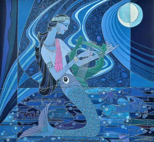 Rhyme of the Sea Limited Edition Print by Zu Ming Ho