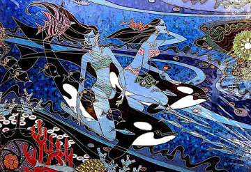 Island of the Orcas 2009 Limited Edition Print by Zu Ming Ho