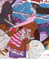 Approaching the Budhala Palace Limited Edition Print by Zu Ming Ho - 6
