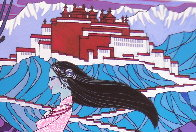 Approaching the Budhala Palace Limited Edition Print by Zu Ming Ho - 4