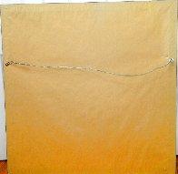 Golden Fortunes 35x35 Super Huge Original Painting by Zu Ming Ho - 3