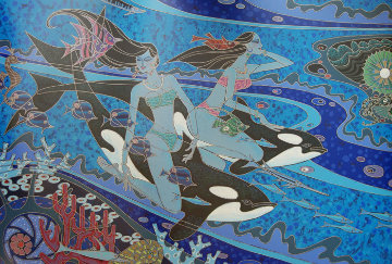 Island of the Orcas Limited Edition Print by Zu Ming Ho