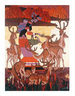 Forrest Romance 2009 Limited Edition Print by Zu Ming Ho