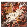 Dances of Two Horses 2009 Limited Edition Print by Zu Ming Ho - 1