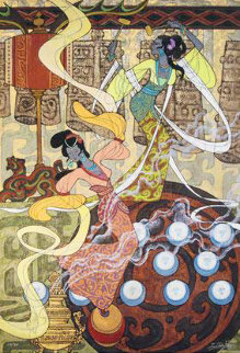 Dance of the Ten Balls 2010 Limited Edition Print by Zu Ming Ho