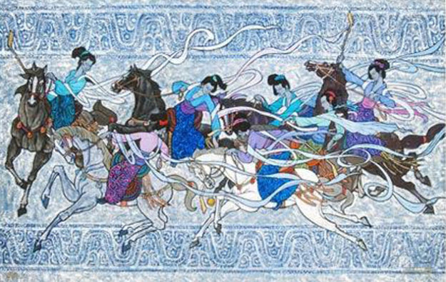 Polo for Seven 2010 Limited Edition Print by Zu Ming Ho