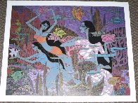 Harmony Suite of 4 Limited Edition Print by Zu Ming Ho - 1