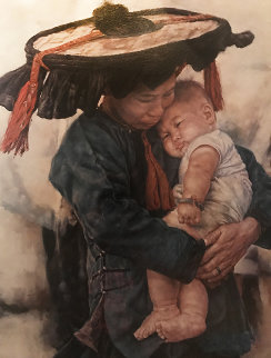 Mothers Love 1979 Limited Edition Print by Wai Ming