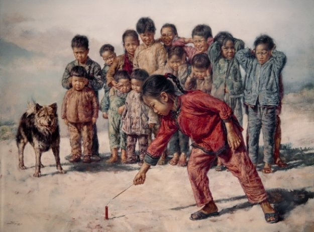 Firecracker 1977 Limited Edition Print by Wai Ming