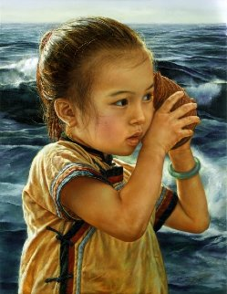 Sea Sound 1989 Limited Edition Print by Wai Ming