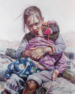 Baby Brother 1979 Limited Edition Print by Wai Ming