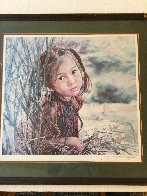Lovely Bright Eyes 1983 Limited Edition Print by Wai Ming - 1