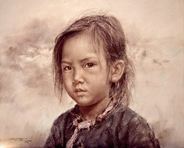 Small Fishgirl 1976 Limited Edition Print by Wai Ming