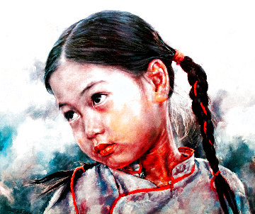 Little Fishgirl Limited Edition Print - Wai Ming