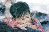 Fish Boy Limited Edition Print by Wai Ming - 1