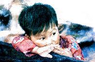 Fish Boy Limited Edition Print by Wai Ming - 0