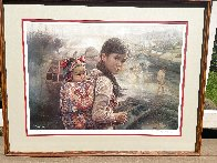 Mother And Child I 1972 Limited Edition Print by Wai Ming - 1
