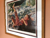 My Toes 1981 Limited Edition Print by Wai Ming - 2