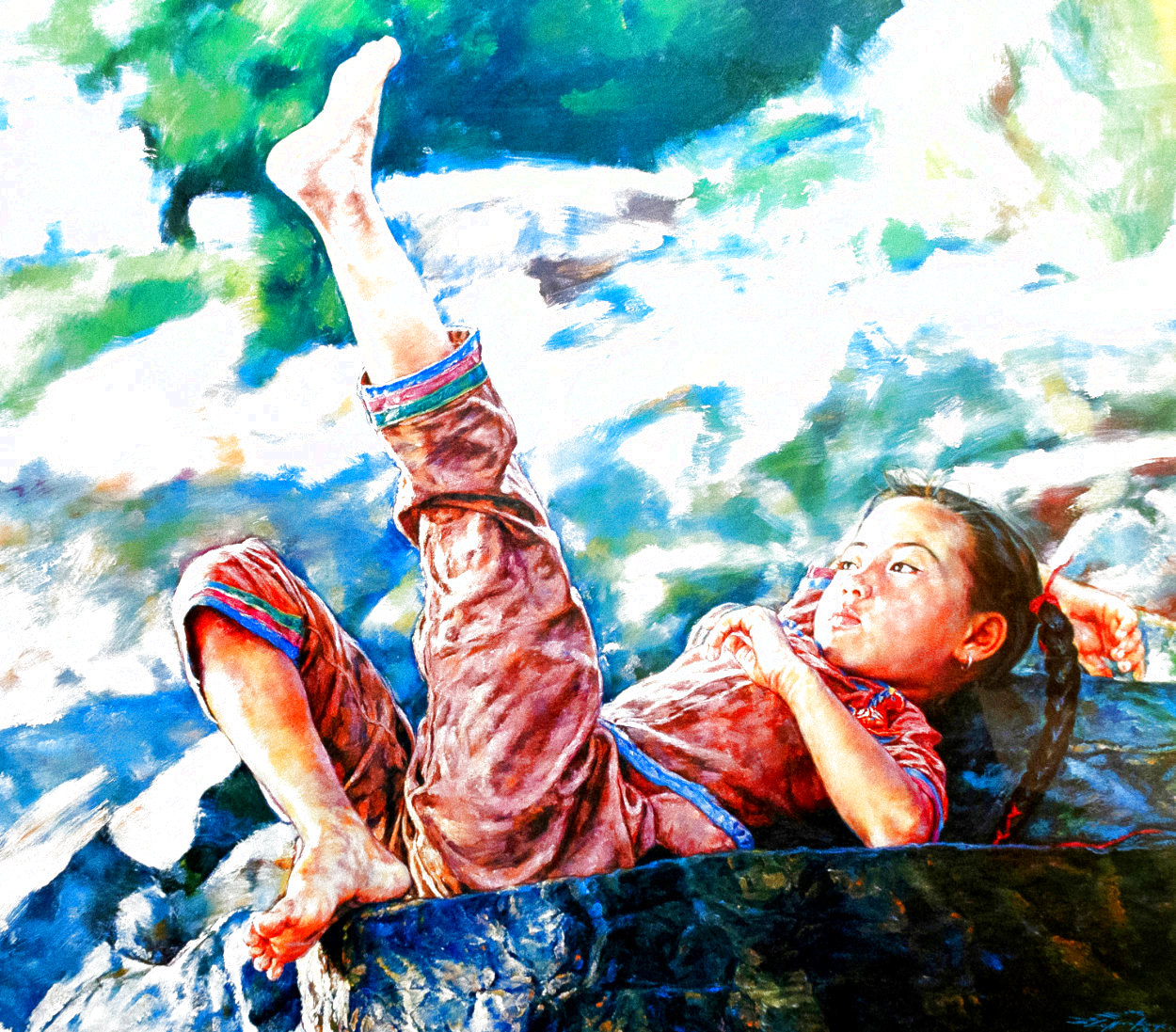 My Toes 1981 Limited Edition Print by Wai Ming