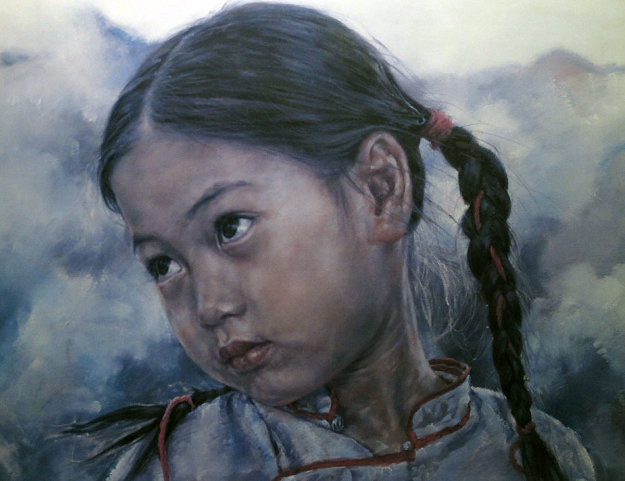 Little Fishgirl 1979 Limited Edition Print by Wai Ming