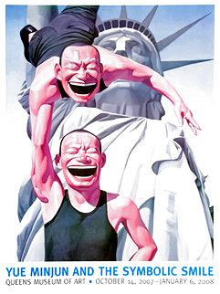 Lady Liberty Poster 2007 Limited Edition Print - Yue Minjun