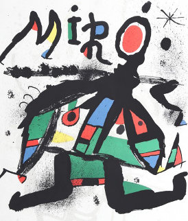 Exhibition Miro At the Galerie Maeght 1979 HS Limited Edition Print - Joan Miro