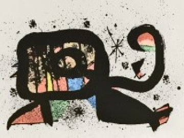 Ocella 1978 Limited Edition Print by Joan Miro
