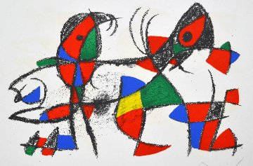 Untitled Lithograph 1974 Limited Edition Print by Joan Miro