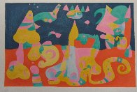 Le Reve from Miro's Suite Pour Ubu Roi 1966 HS Limited Edition Print by Joan Miro - 1