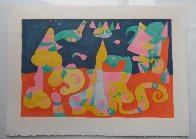 Le Reve from Miro's Suite Pour Ubu Roi 1966 HS Limited Edition Print by Joan Miro - 2
